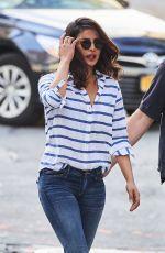 PRIYANKA CHOPRA in Jeans Out in New York 08/16/2016