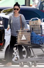 RACHEL BILSON Out Shopping in Los Angeles 08/22/2016