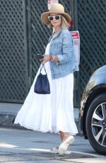 REBECCA GAYHEART Out and About in West Hollywood 08/17/2016