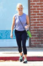 REESE WITHERSPOON at a Yoga Class in Brentwood 08/01/2016