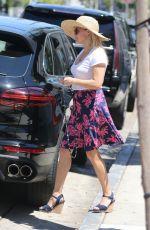 REESE WITHERSPOON Leaves Au Fudge in West Hollywood 08/13/2016