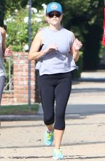 REESE WITHERSPOON Out in Brentwood 08/18/2016