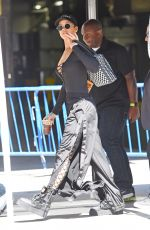 RIHANNA Arrives at Madison Square Garden for VMA Rehearsals in New York 08/27/2016