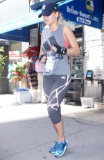 RITA ORA Leaves a Gym in New York 08/17/2016