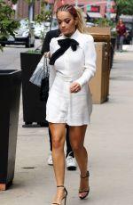 RITA ORA Leaves Her Apartment in New York 08/02/2016