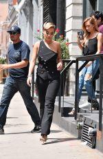 RITA ORA Leaves Her Apartment in New York 08/08/2016