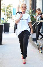RITA ORA Leaves Her Hotel in New York 08/22/2016