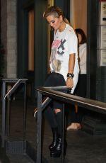 RITA ORA Night Out in New York 08/08/2016