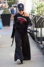RITA ORA Out and About in New York 08/30/2016