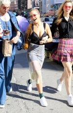 RITA ORA Out in New York 08/07/2016