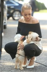 RITA ORA Out in new York 08/19/2016
