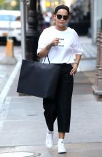 RITA ORA Out in New York 08/27/2016