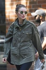 ROONEY MARA Out and About in New York 08/25/2016