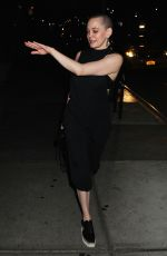 ROSE MCGOWAN Leaves Bowery Hotel in New York 08/29/2016