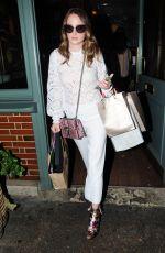 ROSIE FORTESCUE at Ivy Garden in Chelsea 08/03/2016