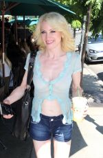 SARA BARRETT Out and About in Beverly Hills 08/06/2016