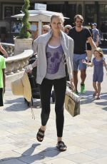 SARA FOSTER Out and About in West Hollywood 08/5/2016