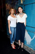 SARAH HYLAND at Glamour and AG Denim and Music Dinner in in Los Angeles 08/10/2016