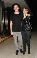 SARAH MOORE Night Out in Los Angeles 08/03/2016