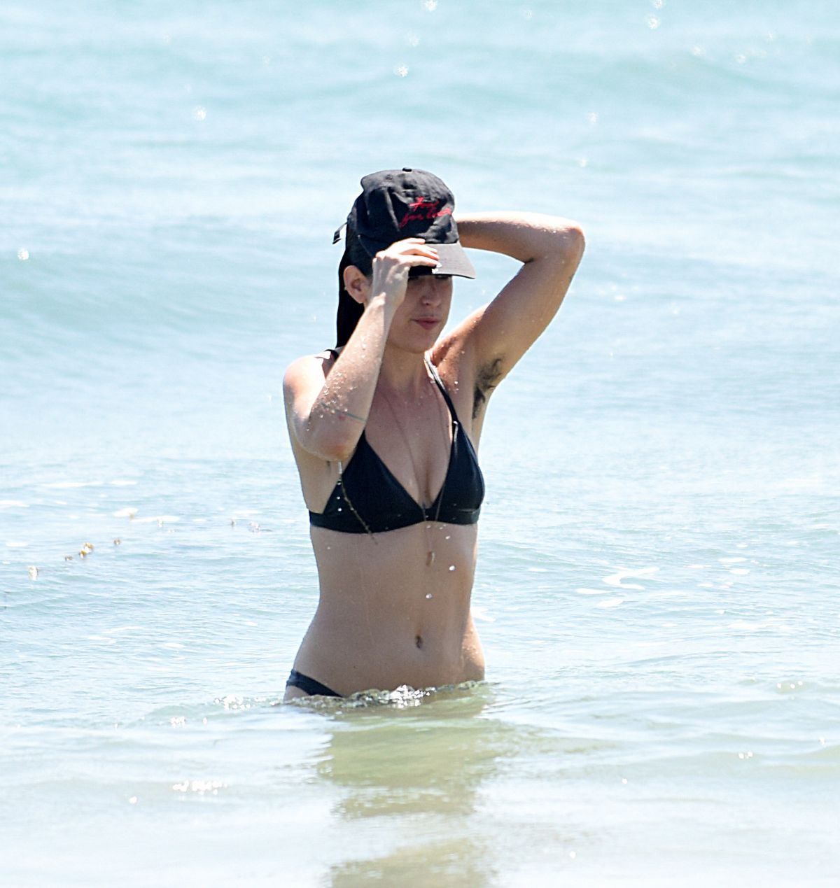 SCOUT WILLIS in Bikini at a Beach in Los Angeles 08/07/2016 ...
