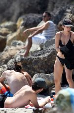 SCOUT WILLIS in Bikini at a Beach in Los Angeles 08/07/2016