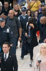 SELENA GOMEZ at Airport in Sydney 08/10/2016