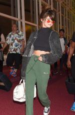SELENA GOMEZ at Tokyo International Airport 01/08/2016