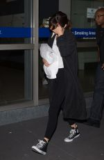 SELENA GOMEZ at Tullamarine Airport in Melbourne 08/05/2016