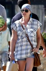 SHANNEN DOHERTY Out Shopping in Beverly Hills 08/02/2016