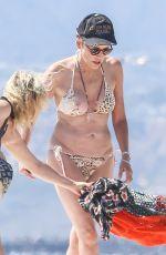 SHARON STONE in Bikini at a Beach in Venice 08/12/2016