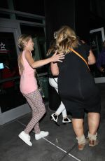 SHARON STONE Night Out in Los Angeles 08/09/2016