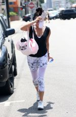 SHAY MITCHELL Leaves a Gym in West Hollywood 08/05/2016