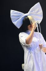 SIA at V Festival at Hylands Park in Chelmsford 08/20/2016