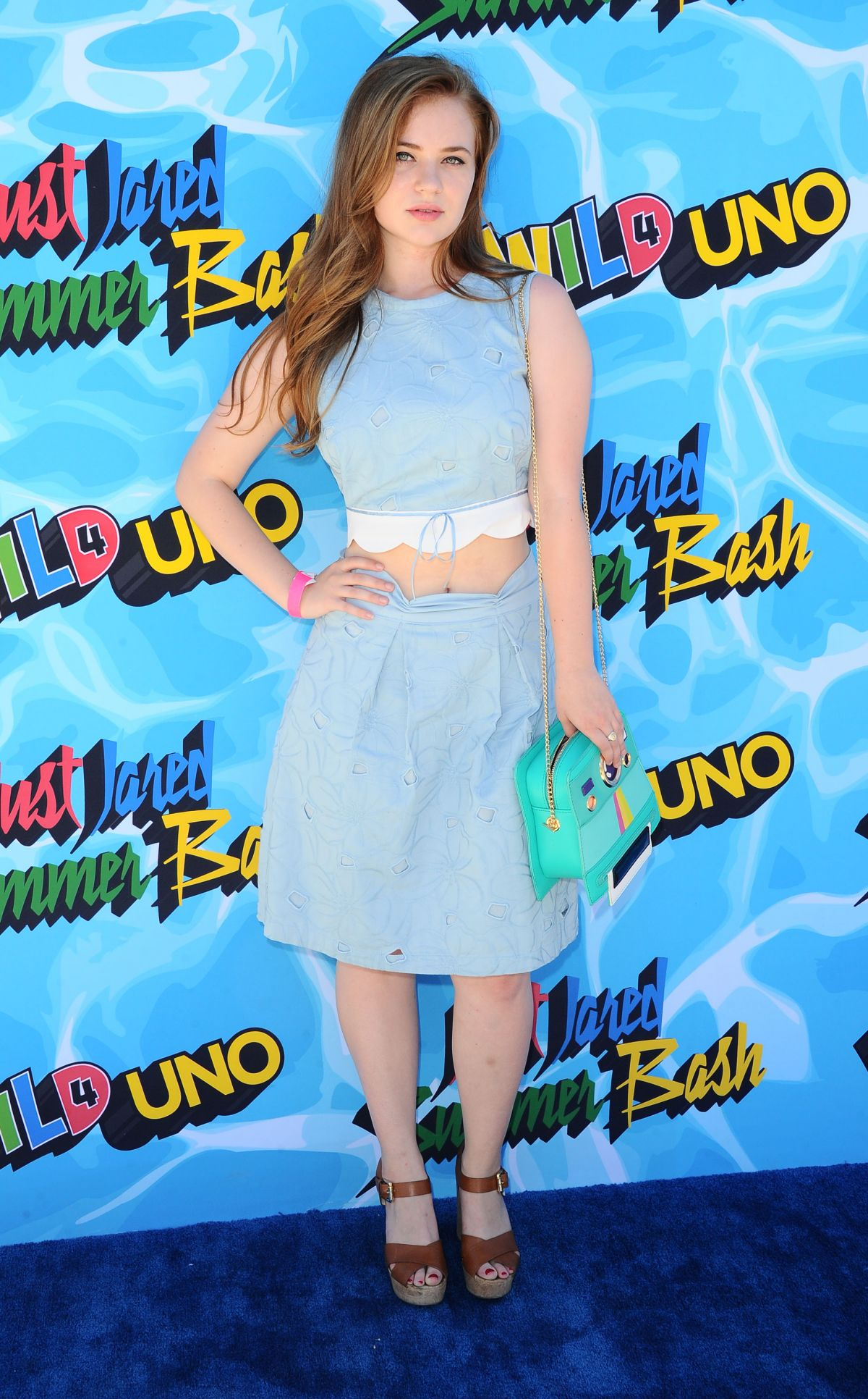 SIERRA MCCORMICK at 4th Annual Just Jared Summer Bash in Beverly Hills 08/13/2016