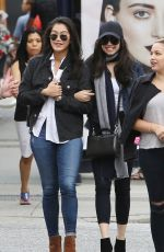SOFIA CARSON and DIANNE DOAN Out for Lunch in Vancouver 08/24/2016