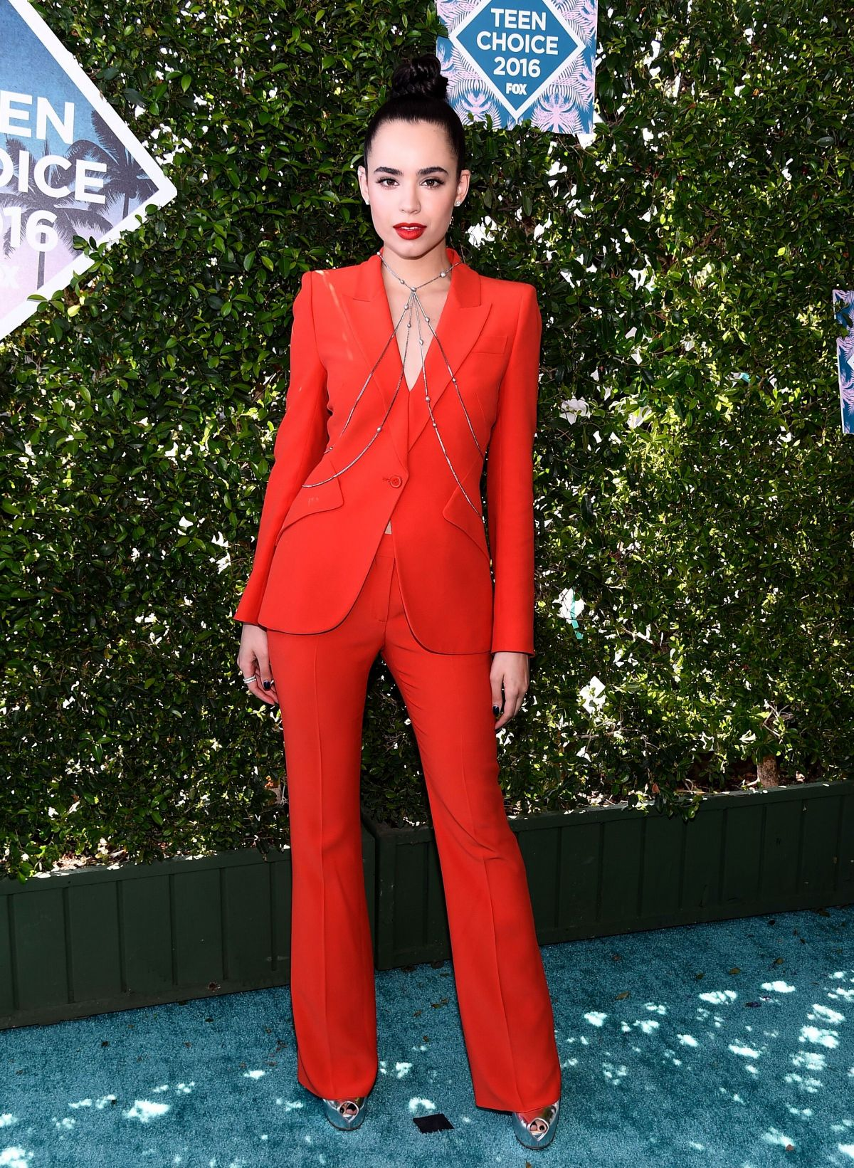SOFIA CARSON at Teen Choice Awards 2016 in Inglewood 07/31/2016