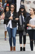 SOFIA CARSON Out and About in Vancouver 08/22/2016