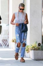 SOFIA RICHIE in RIpped Jeans Out in Beverly Hills 08/03/2016