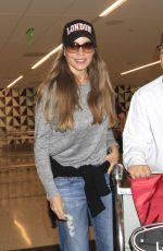 SOFIA VERGARA at Los Angeles International Airport 08/29/2016