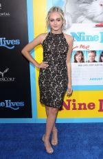 SOPHIE REYNOLDS at 'Nine Lives' Premiere in Hollywood 08/01/2016