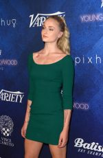SOPHIE TURNER at Power of Young Hollywood Party in Los Angeles 08/16/2016