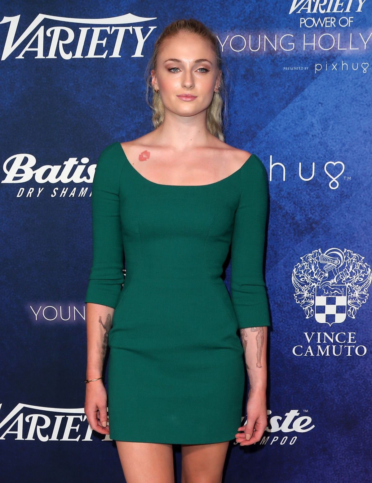 SOPHIE TURNER at Power of Young Hollywood Party in Los Angeles 08/16 ...