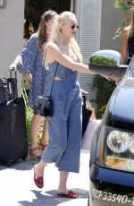 SOPHIE TURNER Out and Abouit in Brentwood 08/13/2016