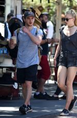 SOPHIE TURNER Shopping at The Grove in Los Angeles 08/11/2016