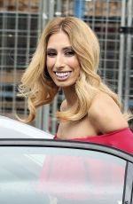STACEY SOLOMON at ITV Studios in London 08/01/2016
