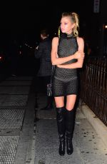 STELLA MAXWELL Leaves Up & Down in New York 08/29/2016