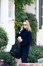 SUKI WATERHOUSE Out and About in Beverly Hills 08/23/2016