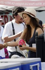 SUMMER GLAU Out Shopping in Studio City 08/14/2016