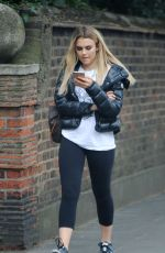 TALLIA STORM Out and About in London 08/09/2016