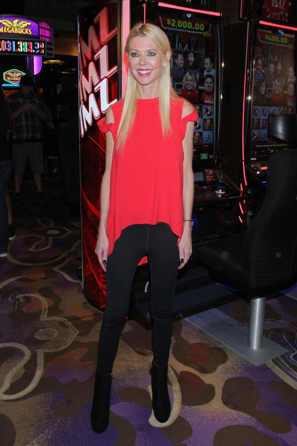 TARA REID at TMZ Promo Event in Las Vegas 08/28/2016